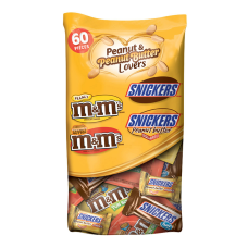 Mars Chocolate Peanut And Peanut Butter