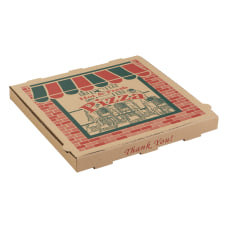 ARVCO Corrugated Pizza Boxes 10 x