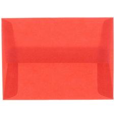 JAM Paper Translucent Envelopes With Gummed