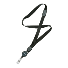 SKILCRAFT Neck Lanyard With Retractable ID