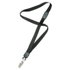 SKILCRAFT Deluxe Lanyard With Bulldog Clip