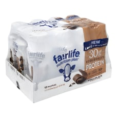 FAIRLIFE High Protein Chocolate Nutrition Shakes