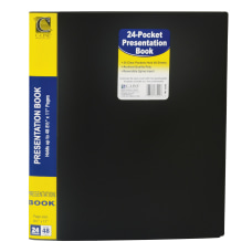 C Line Bound Sheet Protector Presentation