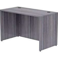 Lorell Essentials 48 W Desk Weathered