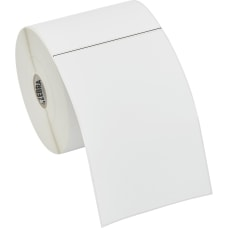 Zebra Label Paper U82392 4 x