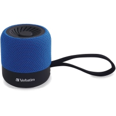 Verbatim Portable Bluetooth Speaker System Blue