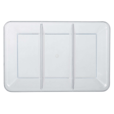 Amscan Plastic Rectangular Sectional Trays 9