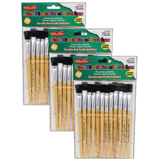 Charles Leonard Easel Paint Brushes Flat