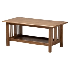 Baxton Studio Transitional Mission Coffee Table