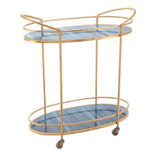 Zuo Modern Zaphire 2 Shelf Steel