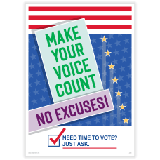 ComplyRight Get Out The Vote Poster