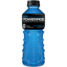 Powerade Liquid Hydration Energy Drink Mountain