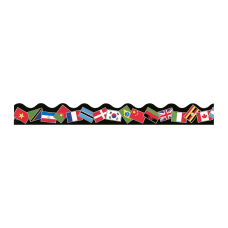 TREND World Flags Terrific Trimmers 39