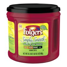 Folgers Simply Smooth Coffee 311 Oz