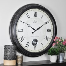 FirsTime Adair Round Wall Clock 24