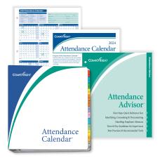 ComplyRight 2021 Attendance Calendar Kit 8