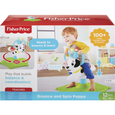 Fisher Price Bounce Spin Puppy 55