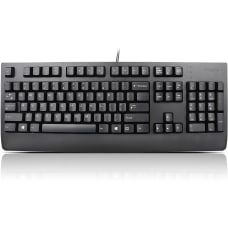 Lenovo USB Keyboard Black US English