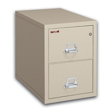 FireKing 25 D Vertical 2 Drawer