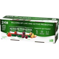 Activia Probiotic Low Fat Yogurt Variety
