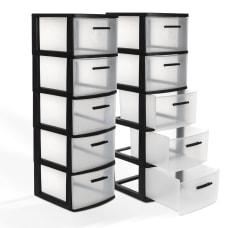 Inval Eclypse 5 Drawer Storage Cabinets
