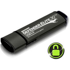 Kanguru Defender Elite30 Hardware Encrypted Secure