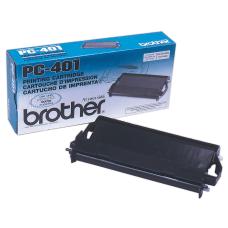 Brother PC 401 Black Film Cartridge