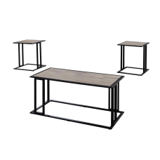 Monarch Specialties Coffee Table With Two