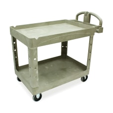 Rubbermaid Two Tiered Full Service Cart