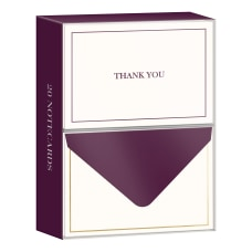 Lady Jayne Professional Thank You Cards