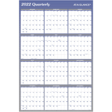 AT A GLANCE Reversible Erasable Yearly