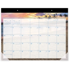 At A Glance Tropical Escape Calendar