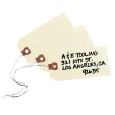 Avery Manila G Shipping Tags 425