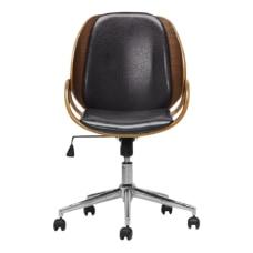 Baxton Studio Maxim Mid Back Chair