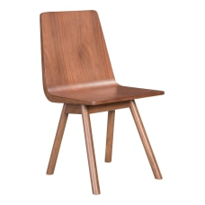 Zuo Modern Audrey Dining Chairs Walnut
