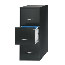 Realspace 18 D Vertical 3 Drawer