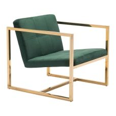 Zuo Modern Alt Arm Chair GreenGold