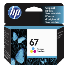 HP 67 Tri Color Original Ink