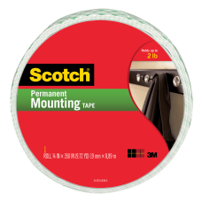 Scotch Permanent Heavy Duty Mounting Tape
