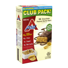 ATKINS High Protein Meal Bars Chocolate
