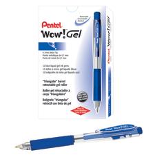 Pentel Wow Retractable Gel Roller Pens