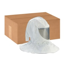 3M H Series Protective Hoods White
