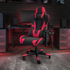 Flash Furniture X20 Ergonomic LeatherSoft High