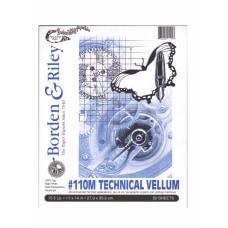 Borden Riley 110M Technical Vellum 11