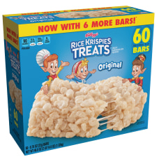 Kelloggs Rice Krispies Treats Original Bars