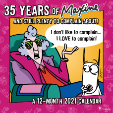 TF Publishing Humor Monthly Wall Calendar