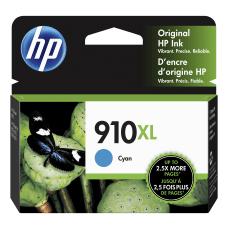 HP 910XL High Yield Cyan Original