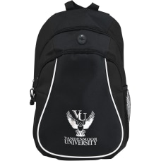 Custom Color Accent Polyester Budget Backpack