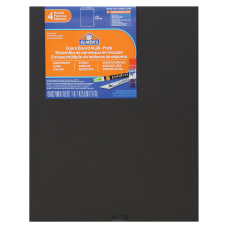 Elmers 4 pack Black Foam Boards