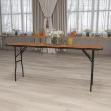 Flash Furniture Rectangular Wood Folding Seminar